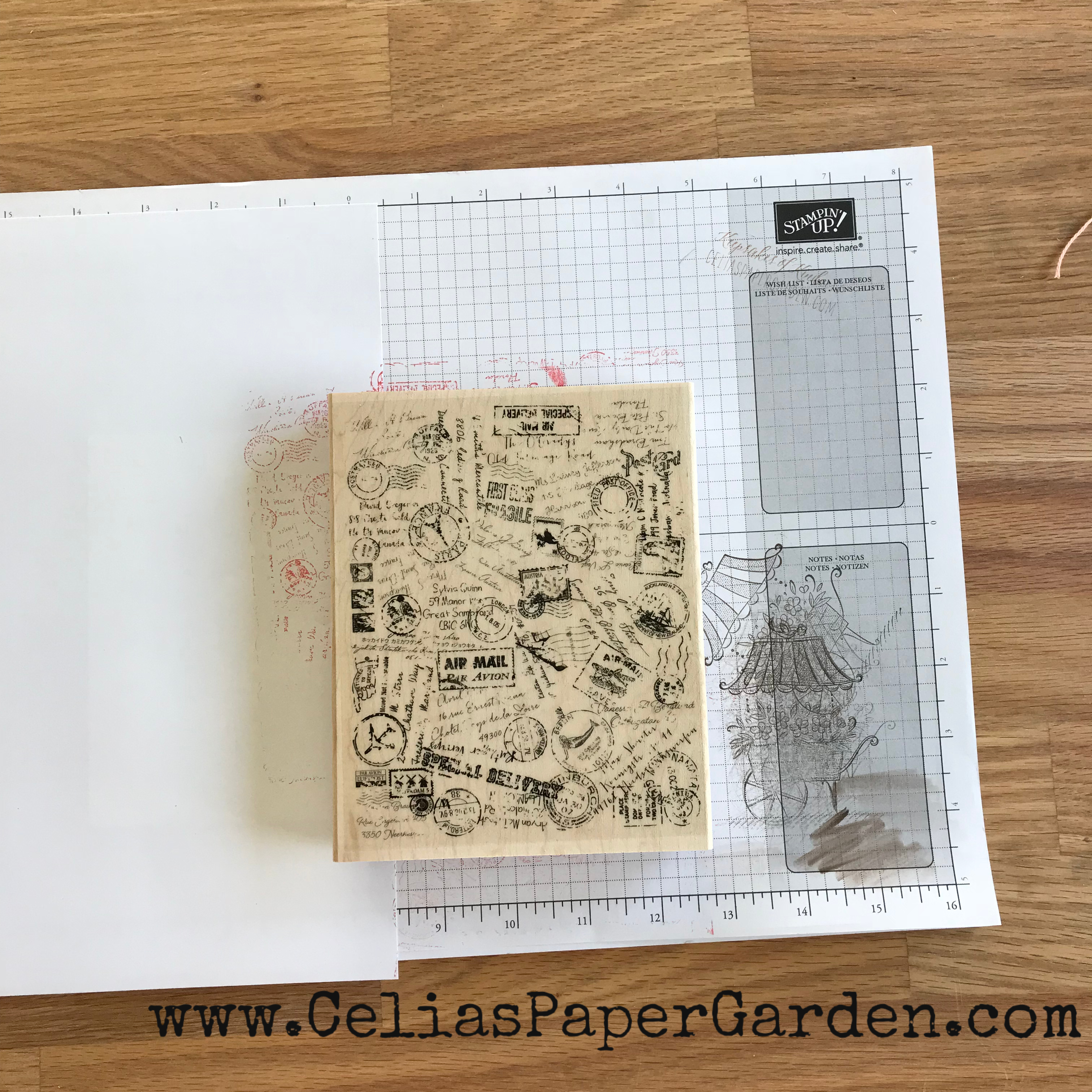 Using A Background Stamp