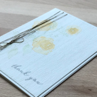 Adding Embossing to a Clean Card
